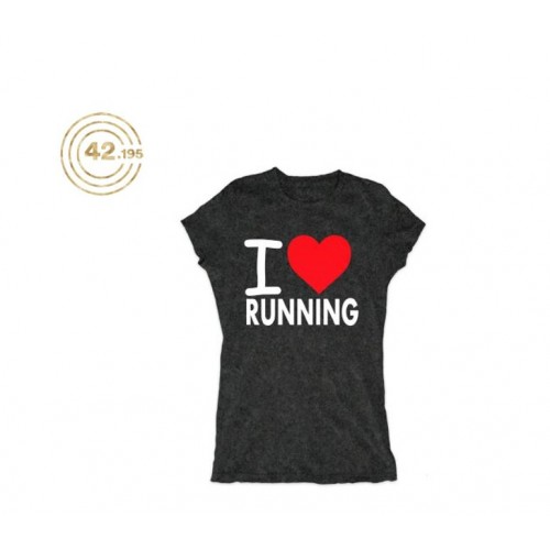 PLAYERA 42.195 I LOVE RUNNING DAMA